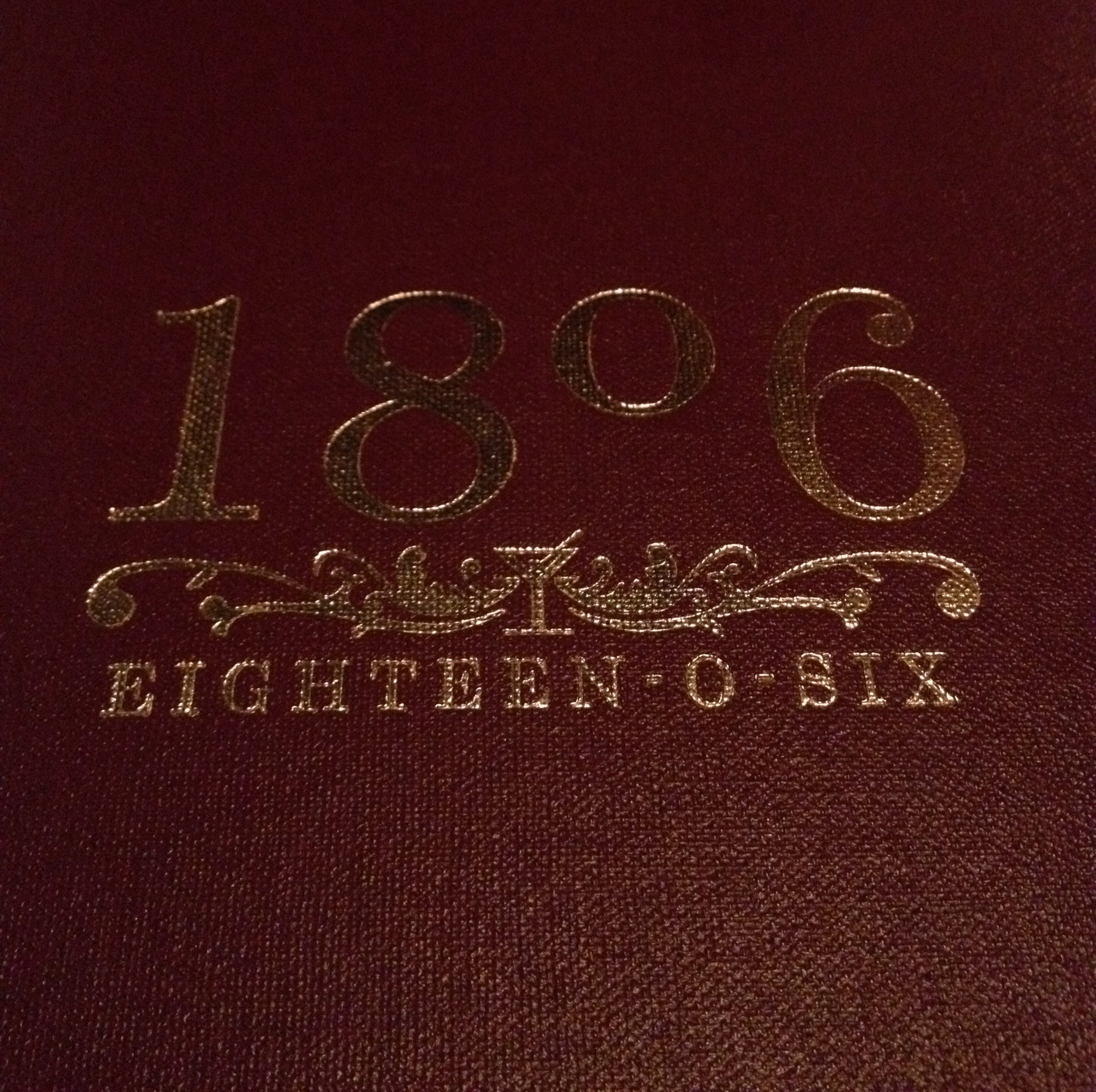 So when I was planning my sister's hen's night I thought 1806 could be a  nice start to the evening. It was then that I found out that they run  cocktail ...