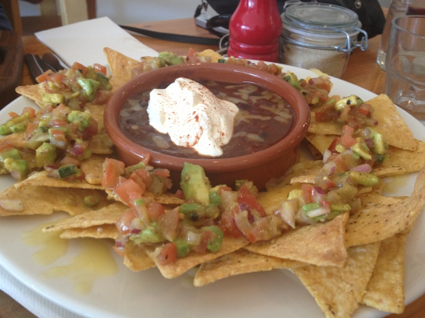 Nachos ($10 for one)